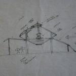 Sky Yurt drawing #1