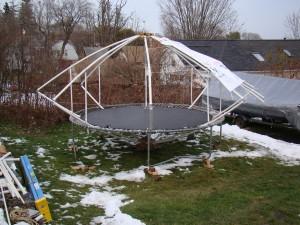 Sky Yurt - PVC prototype