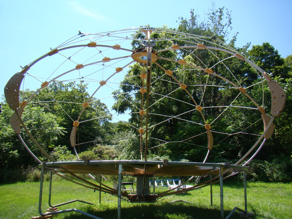 2013 Yurt structure